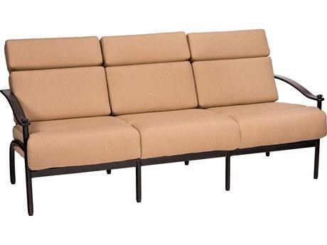 Woodard Nob Hill Aluminum Sofa