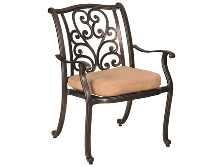 Woodard New Orleans Cast Aluminum Dining Chair