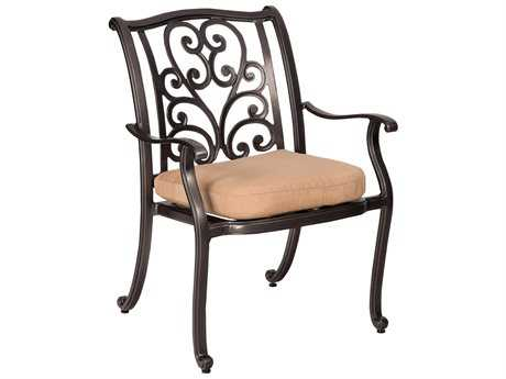 Woodard New Orleans Dining Chair Replacement Cushions
