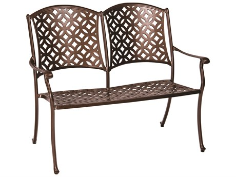 Woodard Casa Cast Aluminum Bench