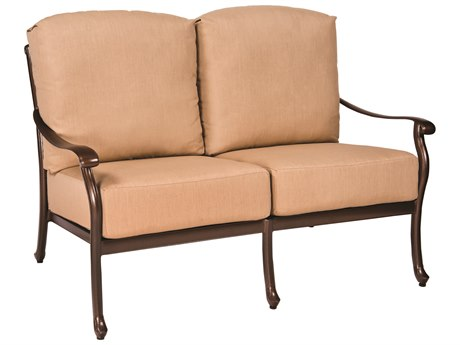 Woodard Casa Cast Aluminum Loveseat