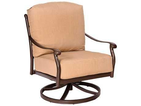 Woodard Casa Swivel Rocking Lounge Chair Replacement Cushions