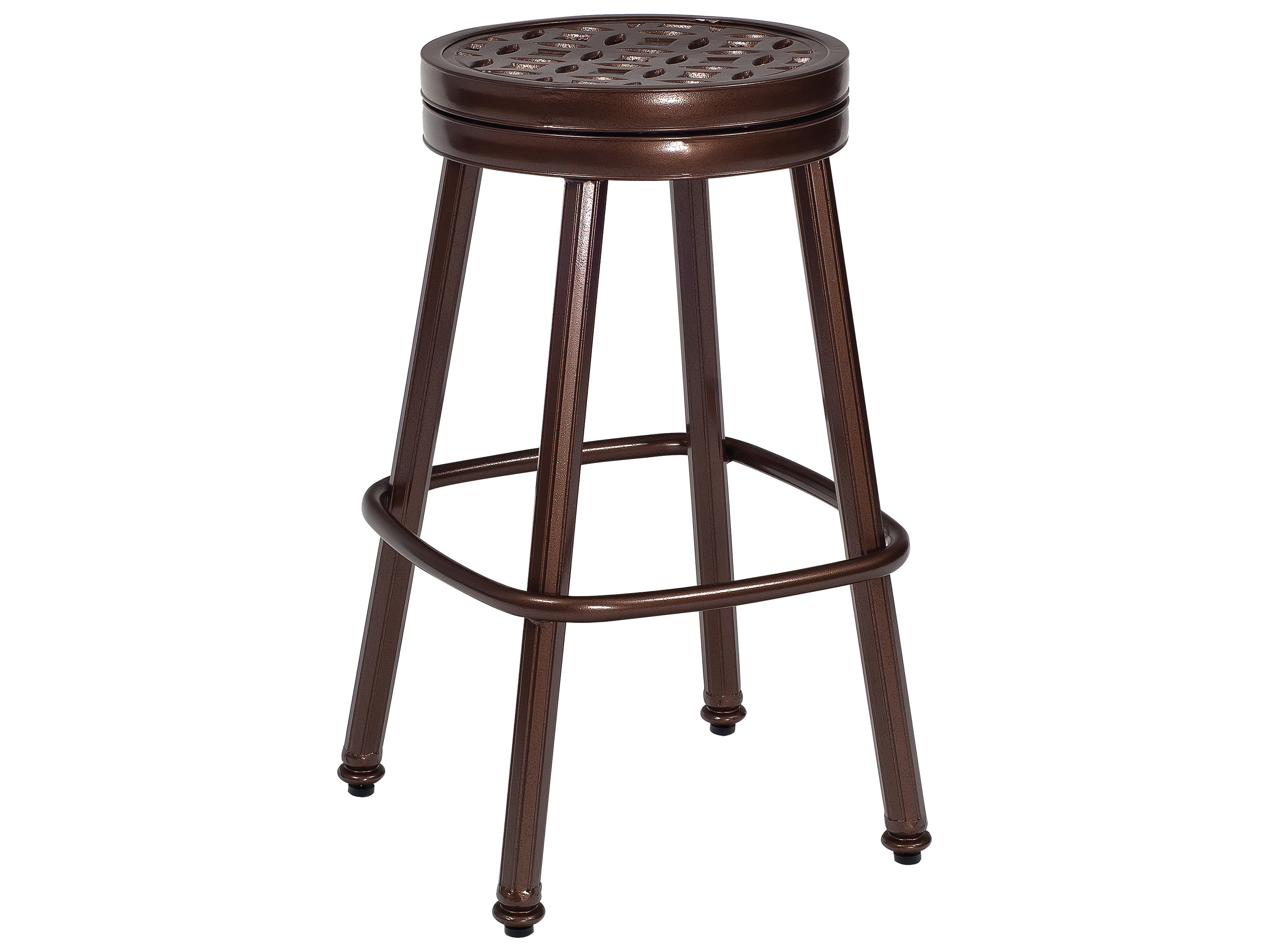 Woodard Casa Round Swivel Bar Stool Replacement Cushions
