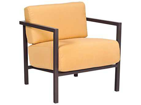 Woodard Salona Cushion By Joe Ruggiero  Aluminum Lounge Chair