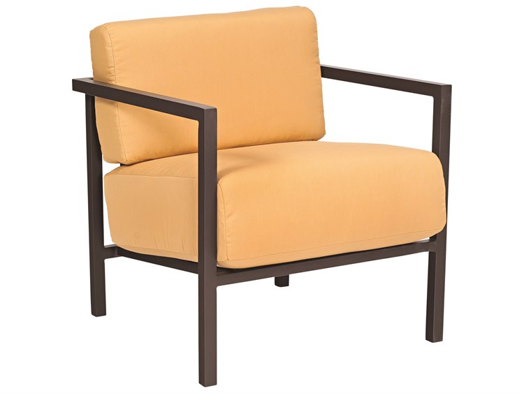 Woodard Salona Cushion By Joe Ruggiero Aluminum Lounge Chair
