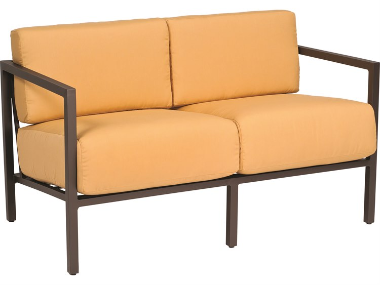 Woodard Salona Cushion By Joe Ruggiero Aluminum Loveseat