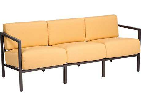 Woodard Salona Cushion By Joe Ruggiero  Aluminum Sofa