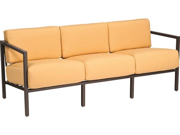 Woodard Salona Cushion By Joe Ruggiero Aluminum Sofa