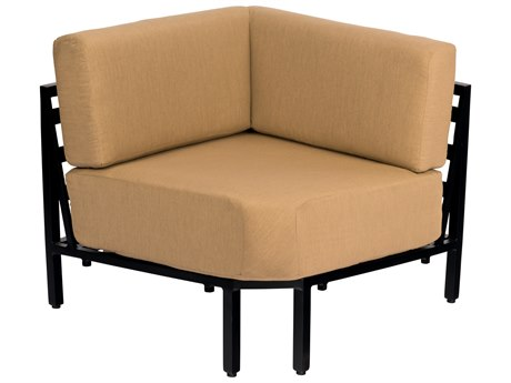 Woodard Salona Cushion By Joe Ruggiero Aluminum Corner Sectional Unit