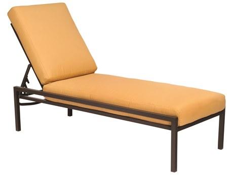 Woodard Salona By Joe Ruggiero Chaise Lounge Hinged Replacement Cushions PatioLiving