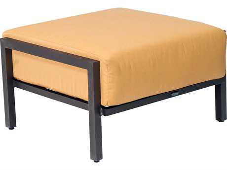 Woodard Salona Cushion By Joe Ruggiero  Aluminum Ottoman