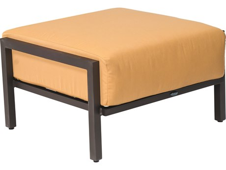 Woodard Salona Cushion By Joe Ruggiero Aluminum Ottoman