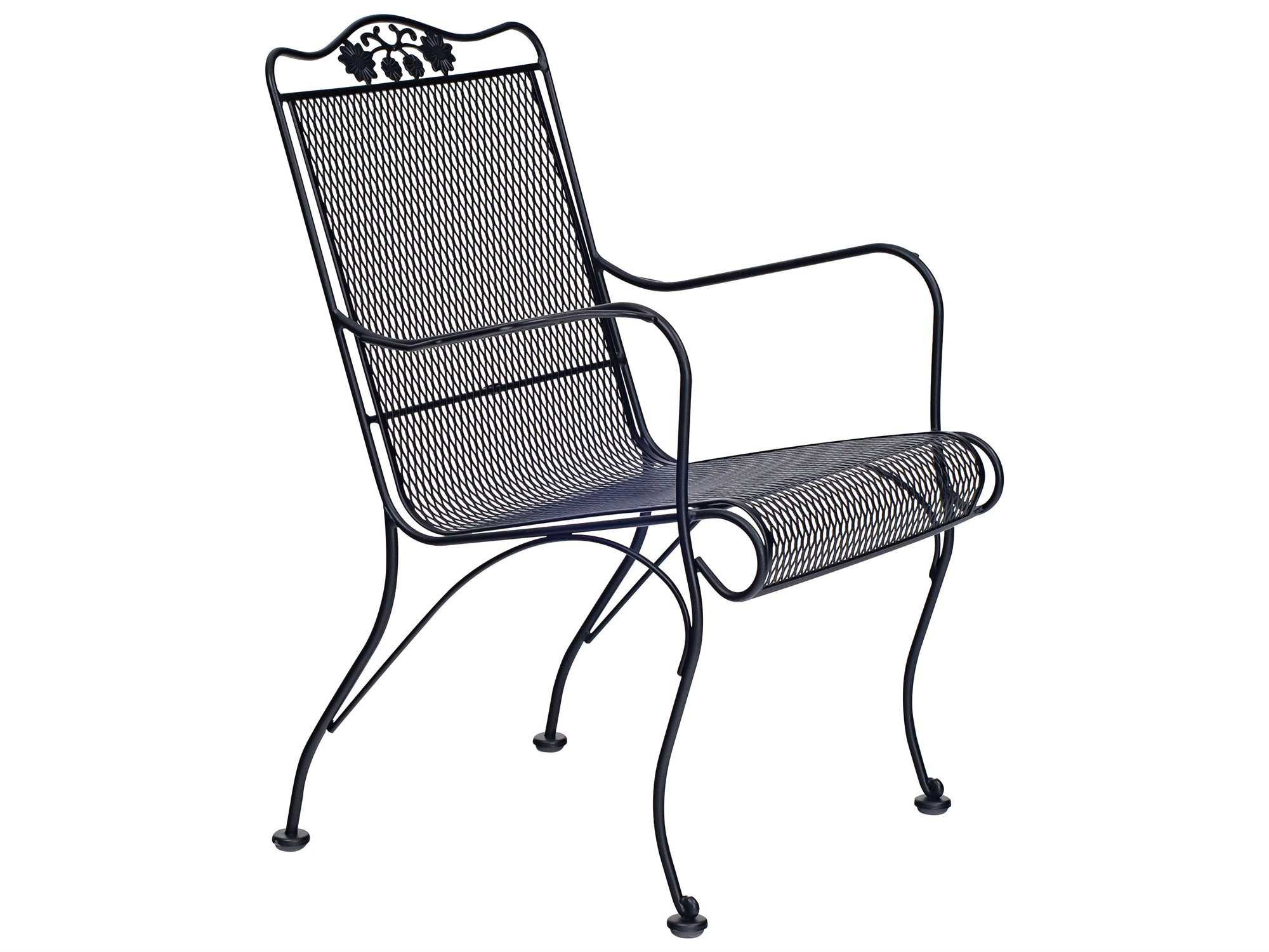 Woodard Briarwood High Back Lounge Chair Seat Replacement