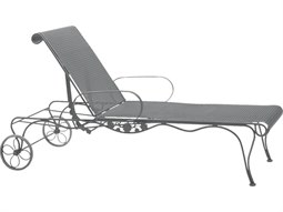 Woodard Briarwood Wrought Iron Chaise Lounge