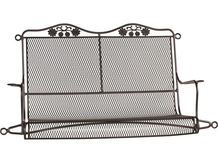 Woodard Briarwood Wrought Iron Swing with Cushion