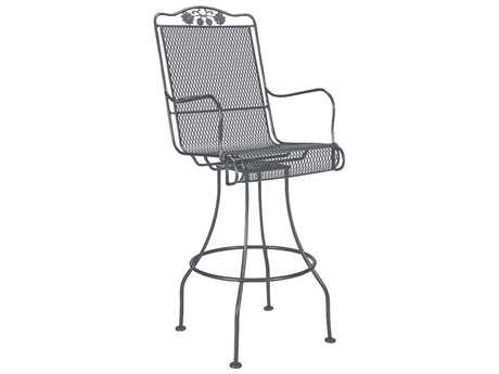 Woodard Briarwood Swivel Bar Stool Seat Replacement Cushions PatioLiving