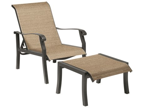 Woodard Cortland Sling Aluminum Lounge Chair