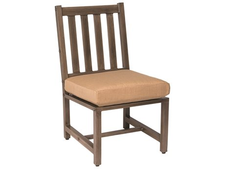 Woodard Woodlands Aluminum Dining Side Chair