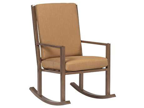 Woodard Woodlands Aluminum Small Rocker