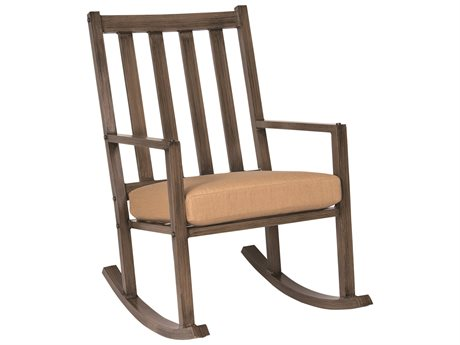 Woodard Woodlands Large Rocker with Optional Back Cushion