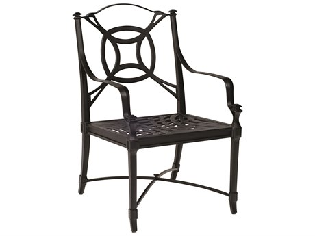 Woodard Isla Cast Aluminum Dining Chair