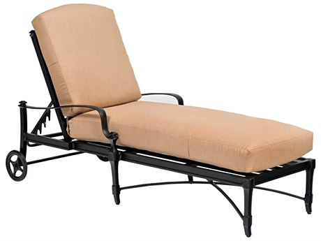 Woodard Isla Stackable Adjustable Chaise Lounge Replacement Cushions