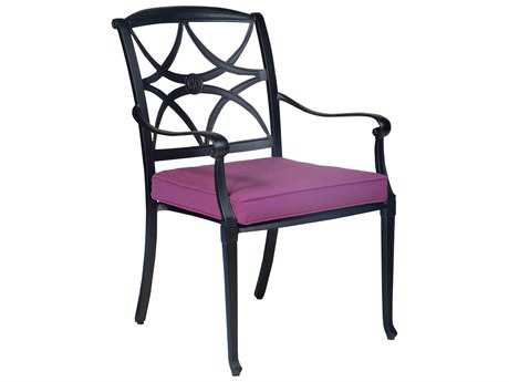 Woodard Wiltshire Aluminum Stackable Dining Chair