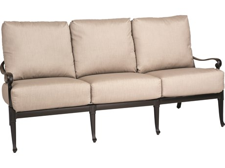 Woodard Wiltshire Cast Aluminum Sofa PatioLiving