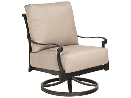 Woodard Wiltshire Cast Aluminum Rocker Lounge Chair