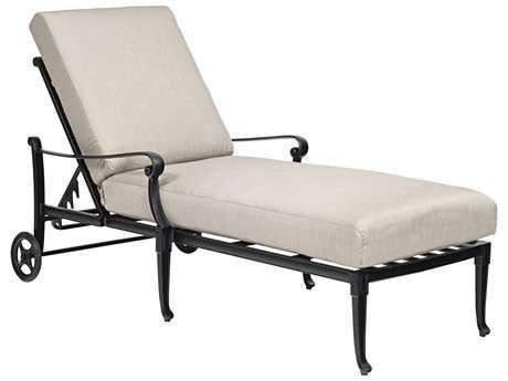 Woodard Wiltshire Aluminum Adjustable Chaise Lounge