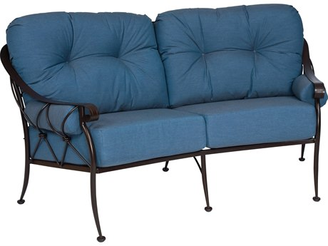 Woodard Derby Crescent Loveseat Replacement Cushions