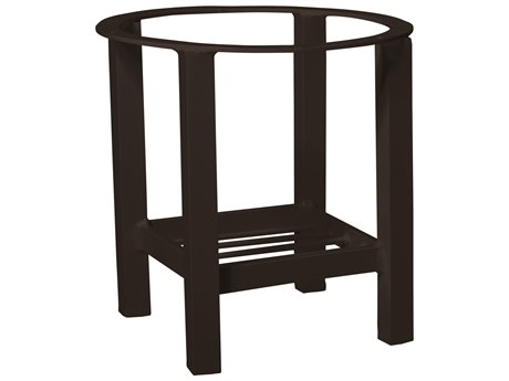 Woodard Elite Aluminum End Table Base Only