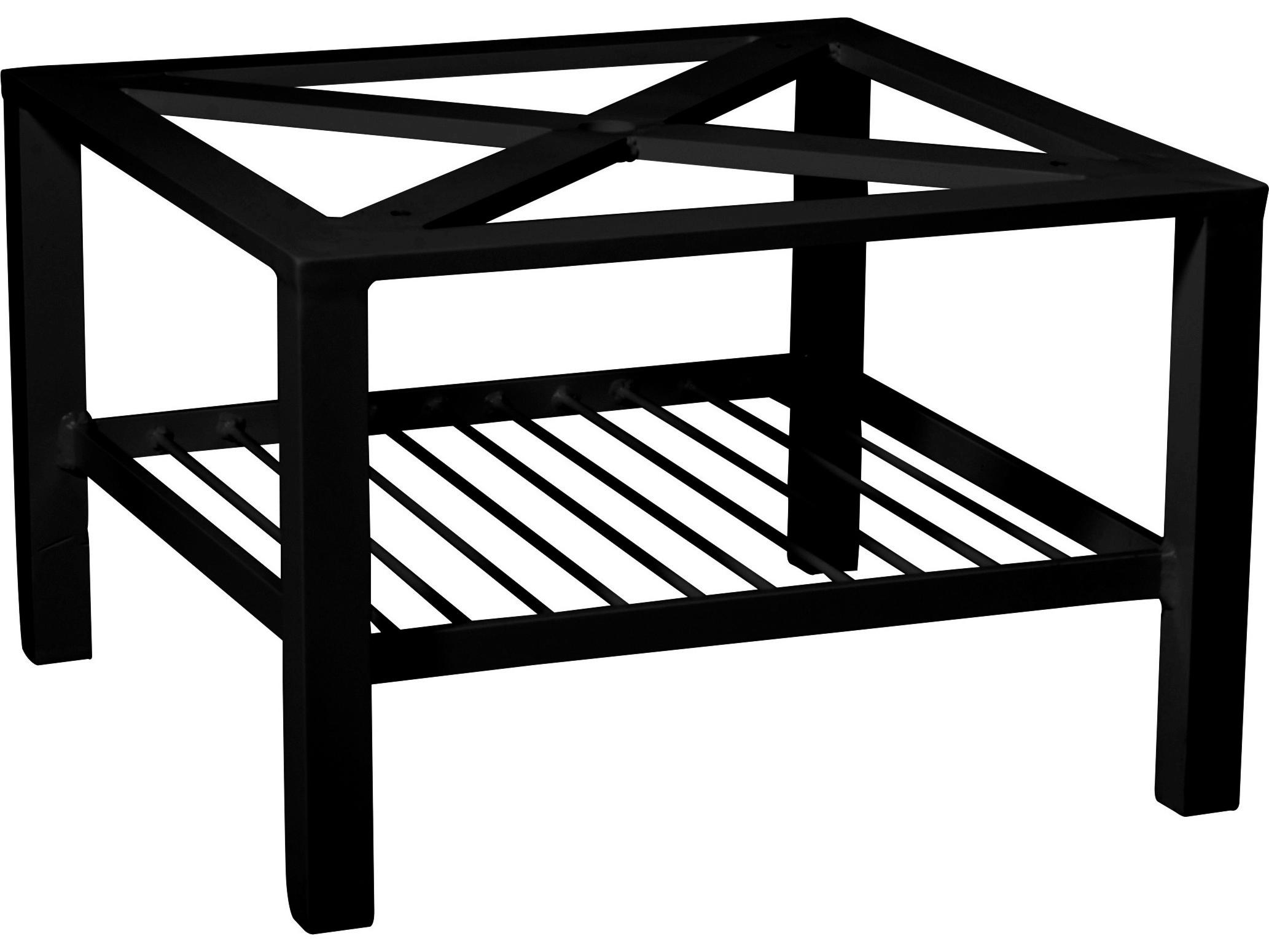 woodard elite aluminum coffee table base only 4v4300. Black Bedroom Furniture Sets. Home Design Ideas