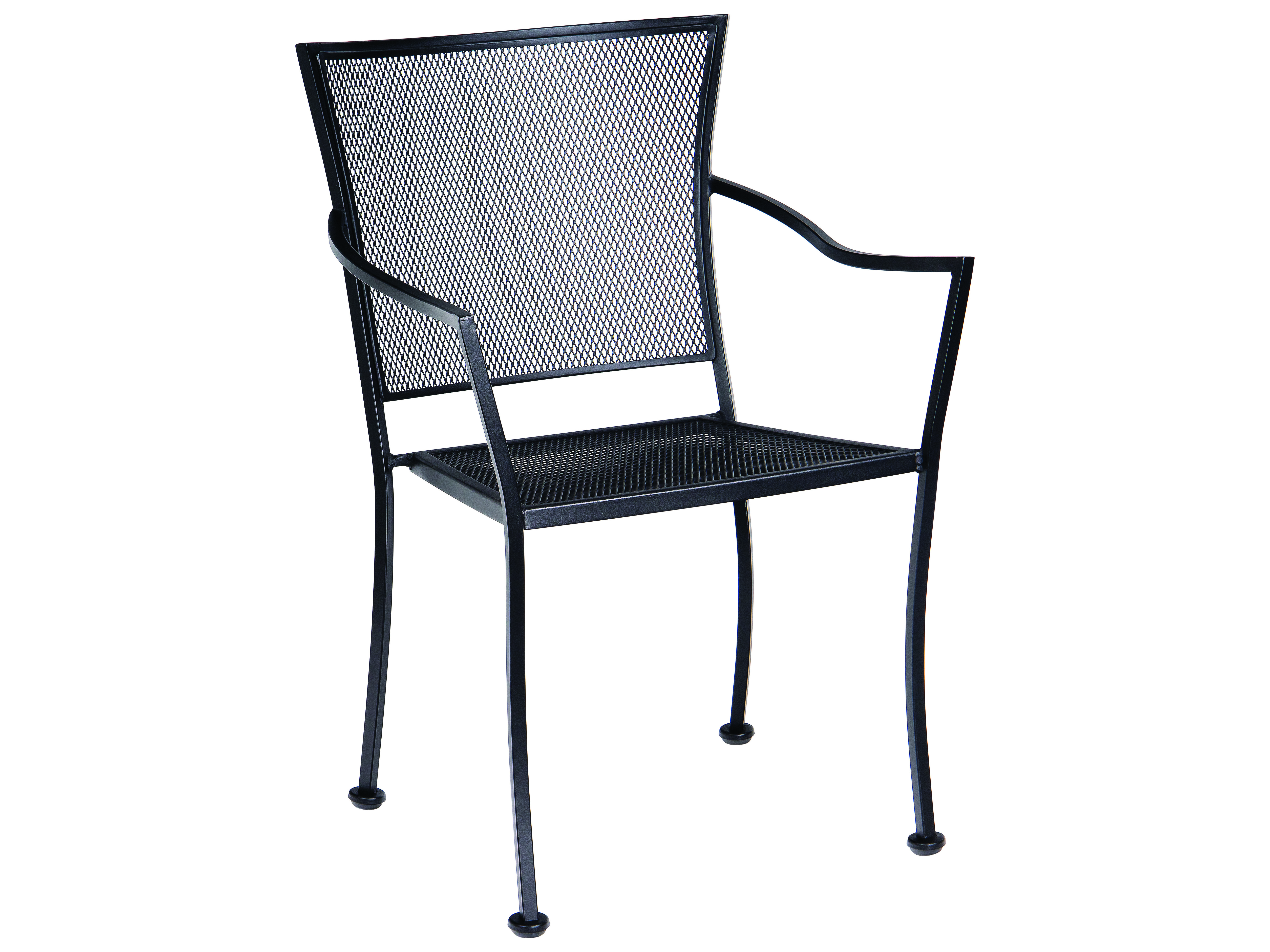 wrought iron chairs woodard amelie wrought iron stackable bistro arm chair 31263