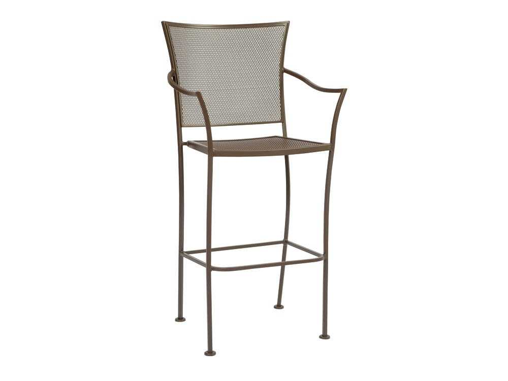 woodard amelie bar stool replacement cushions 4x0081ch. Black Bedroom Furniture Sets. Home Design Ideas