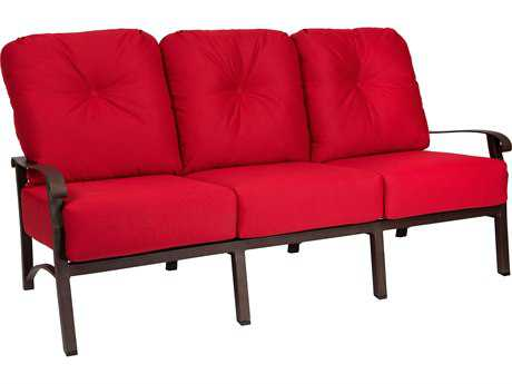 Woodard Cortland Cushion Aluminum Sofa