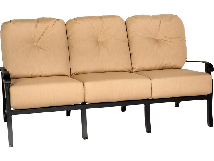 Woodard Cortland Cushion Aluminum Sofa PatioLiving