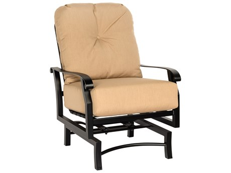 Woodard Cortland Cushion Aluminum Spring Lounge Chair PatioLiving