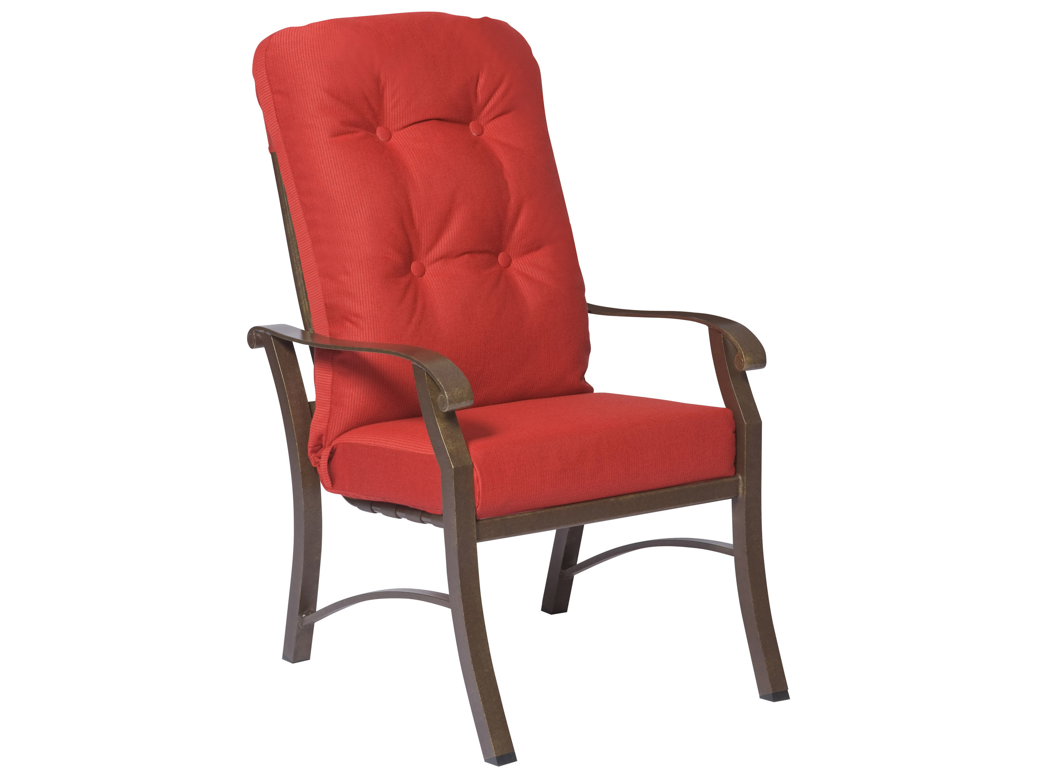 Woodard Cortland High Back Dining Arm Chair Replacement