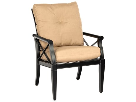 Woodard Andover Cushion Aluminum Dining Arm Chair