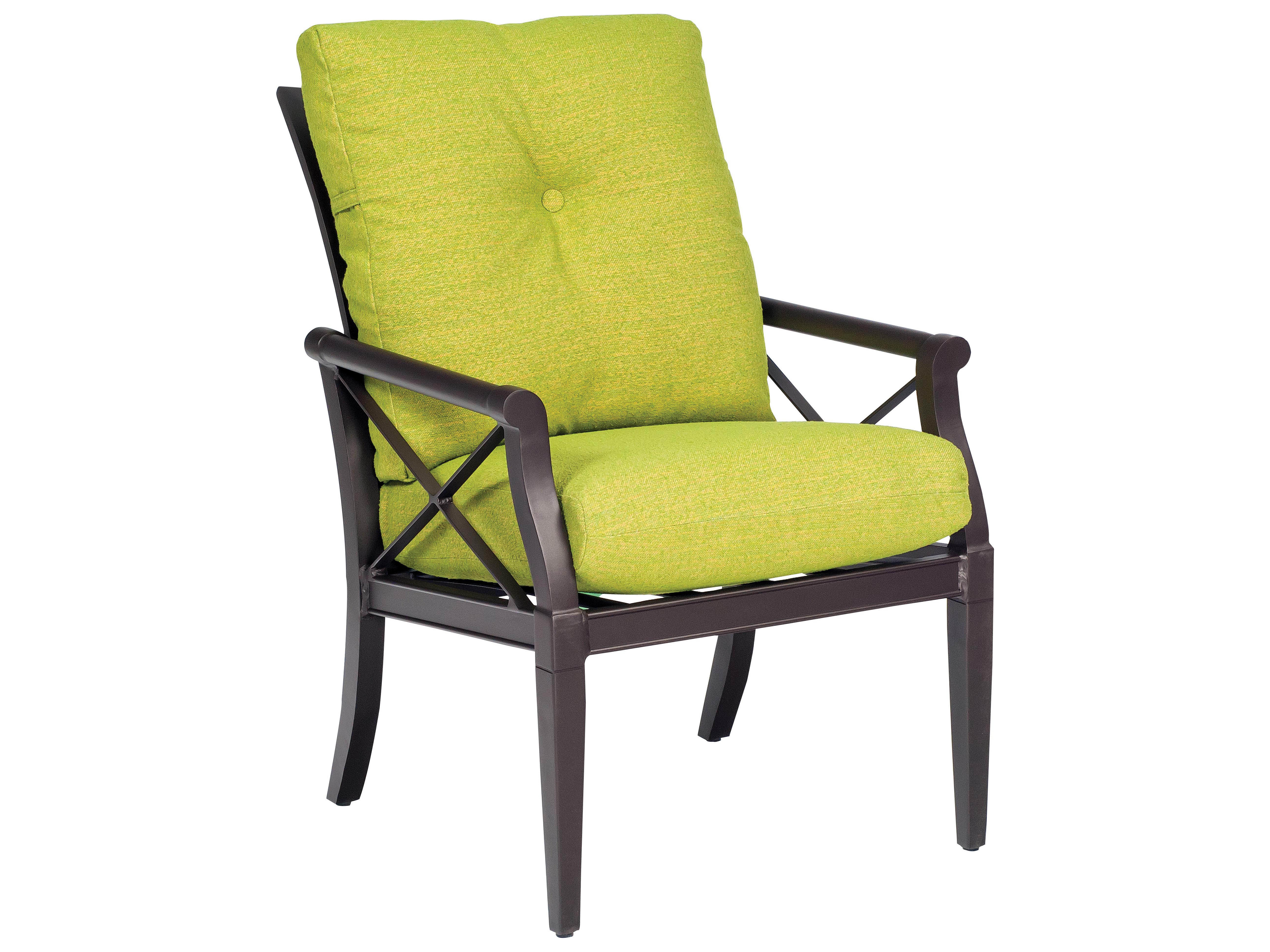 Woodard Andover Dining Arm Chair Replacement Cushions ...