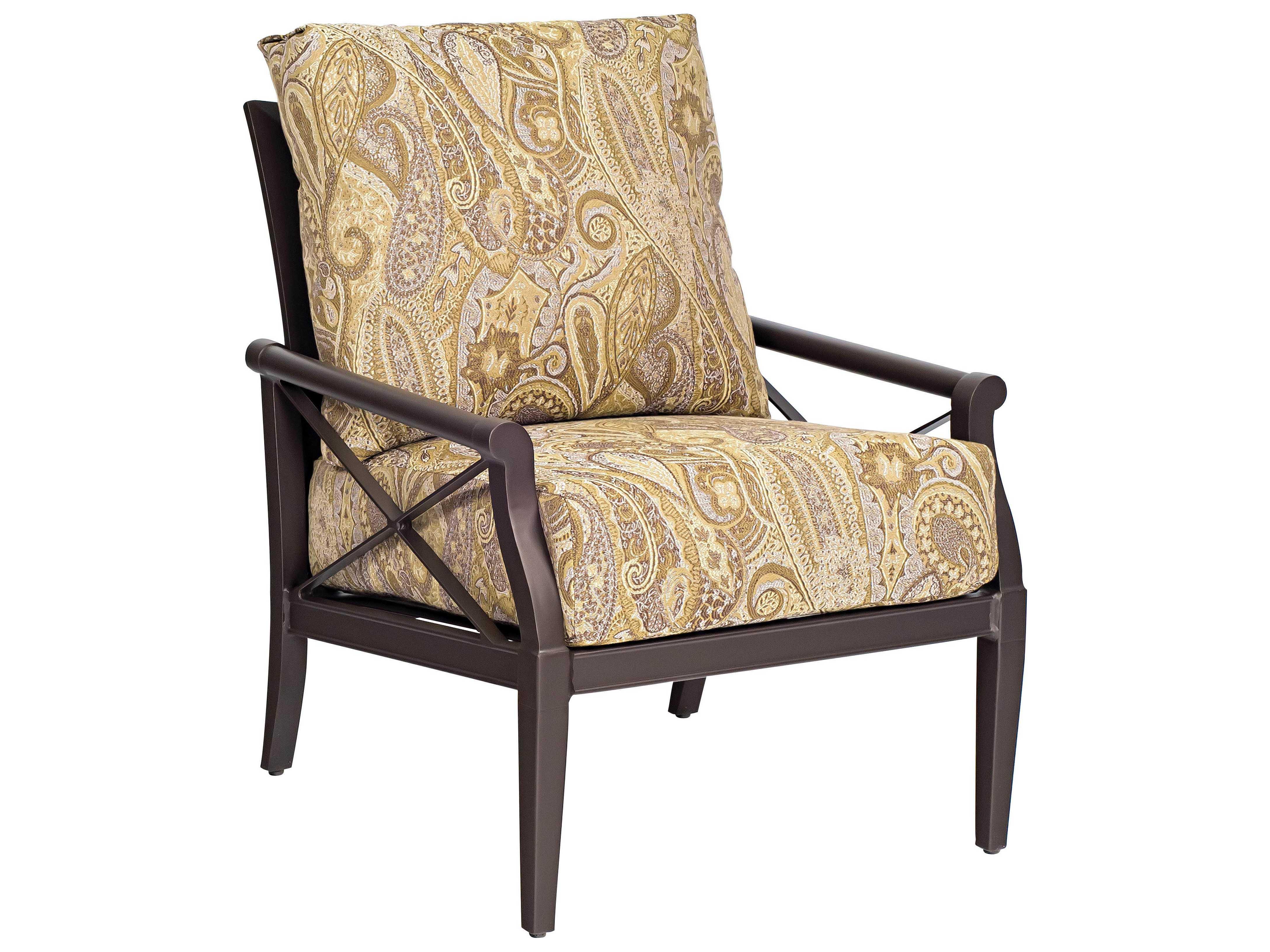 Woodard andover cushion aluminum lounge set wrandovlngeset1 for Woodard patio furniture