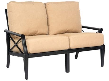 Woodard Andover Cushion Aluminum Loveseat