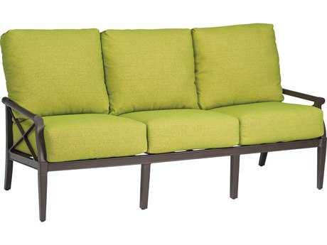 Woodard Andover Cushion Aluminum Sofa