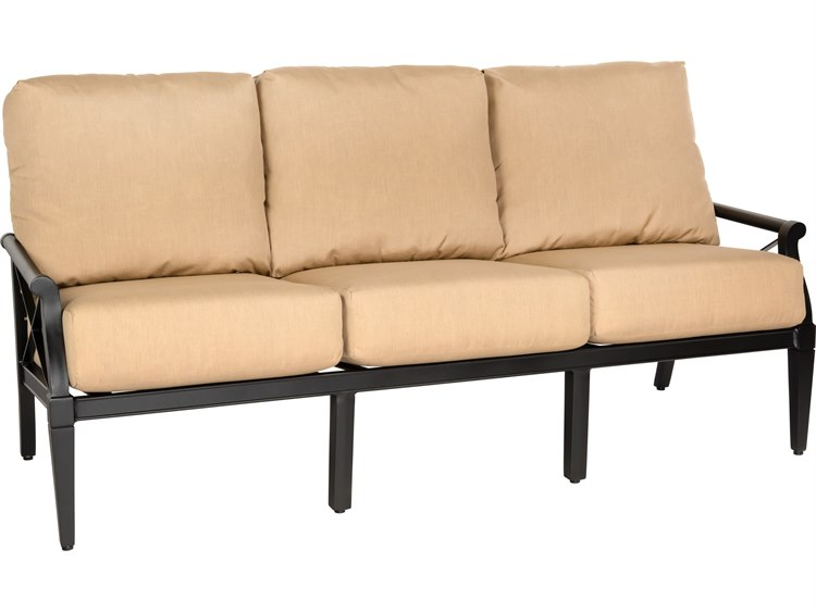 Woodard Andover Cushion Aluminum Sofa