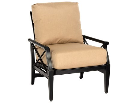 Woodard Andover Cushion Aluminum Rocking Lounge Chair