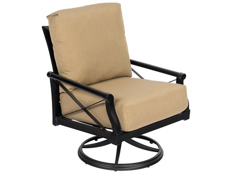 Woodard Andover Cushion Swivel Rocking Lounge Chair
