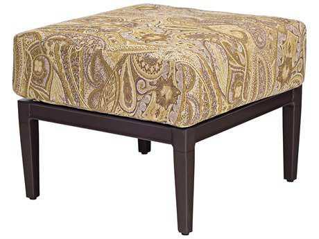 Woodard Andover Cushion Aluminum Ottoman