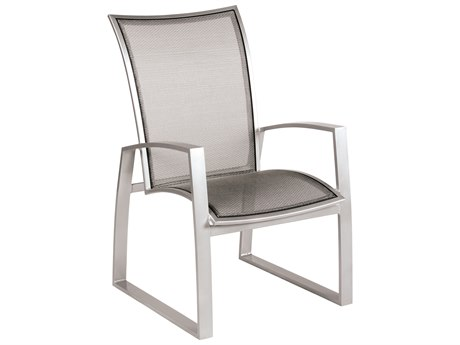 Woodard Wyatt Flex Aluminum Dining Chair