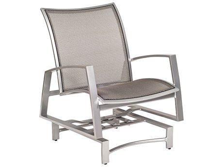 Woodard Wyatt Flex Aluminum Spring Lounge Chair